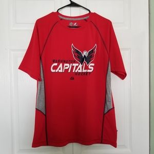 Majestic Washington Capitals hockey Tee